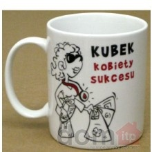 Mug - Successful Woman's Mug - Kubek Kobiety Sukcesu by BG. Made in Poland. #mothersday