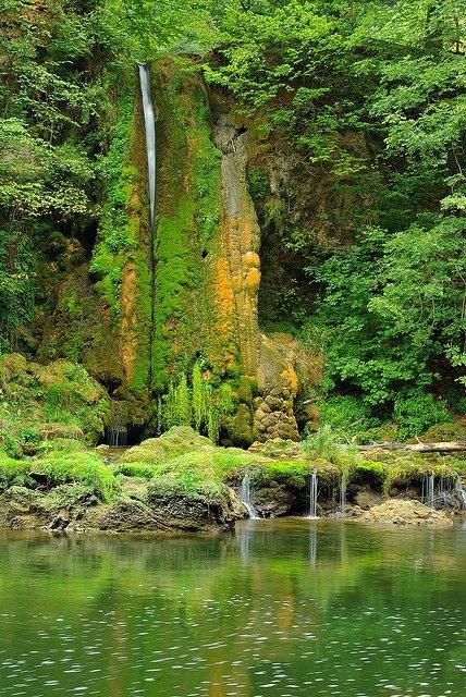 Crisul Repede river in Transylvania, Romania