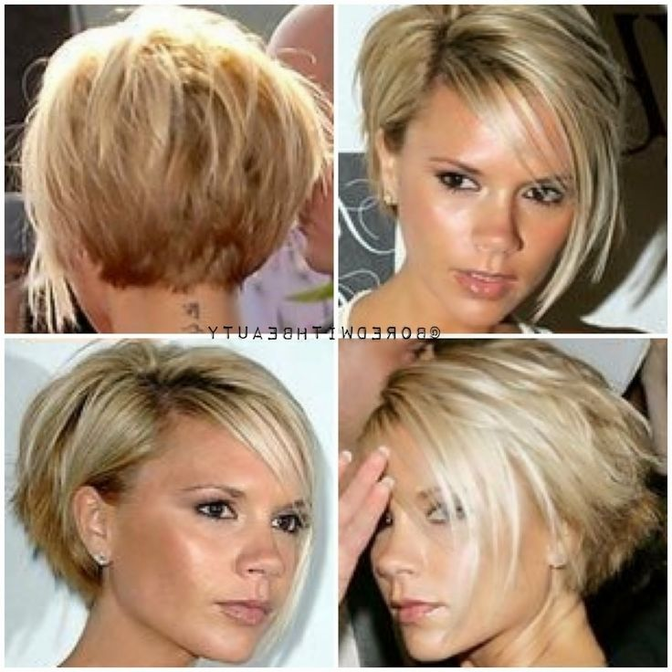 Short Hair Front And Back Victoria Beckham Beckham Hair