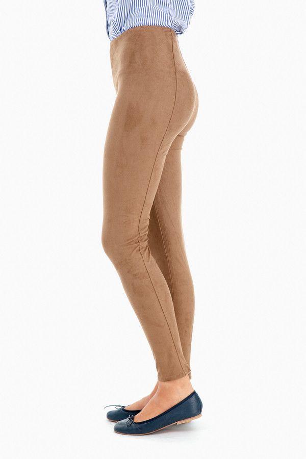 f8b67d19b4cee Lysse | High Waist Suede Legging | Lysse | Looks I Love | Suede ...