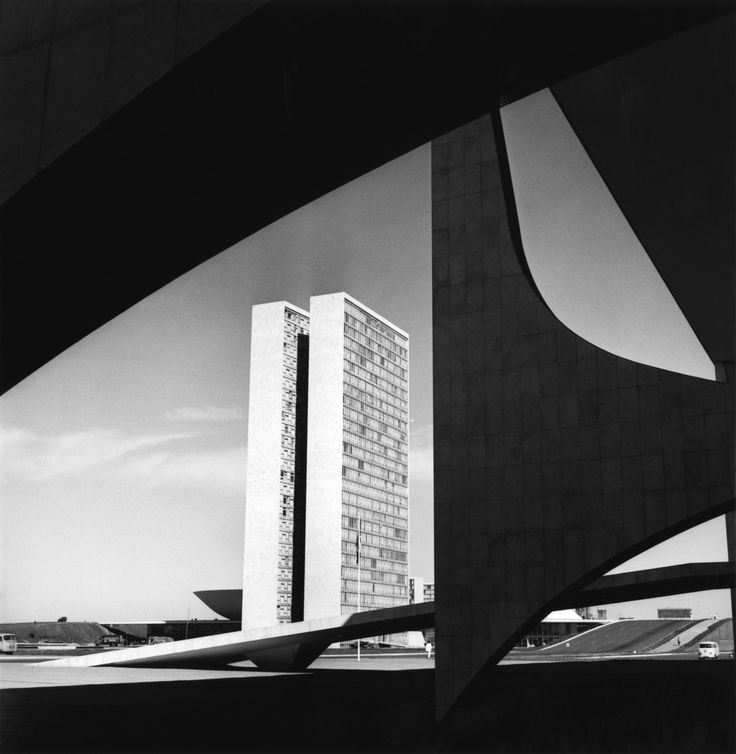 various Brazilia government buildings by Oscar Niemeyer