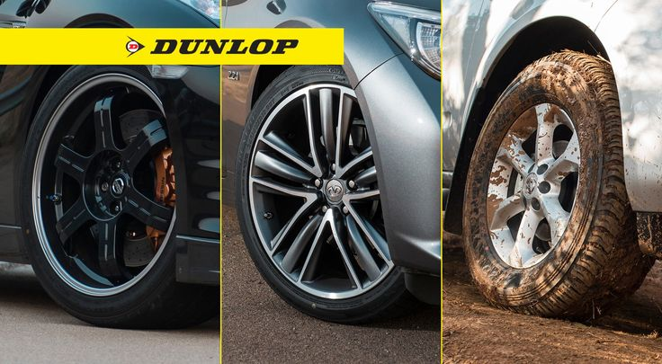By rotating your tyres, it extends the life of the tyre, saving you time and money! #DunlopTyresSA #TyreRotation