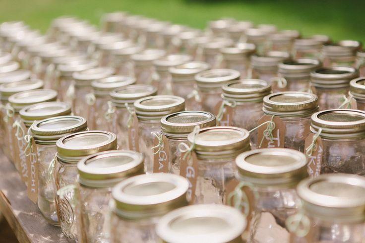 Wedding Ideas Using Mason Jars: 17 Best Images About Mason Jar Wedding Ideas On Pinterest