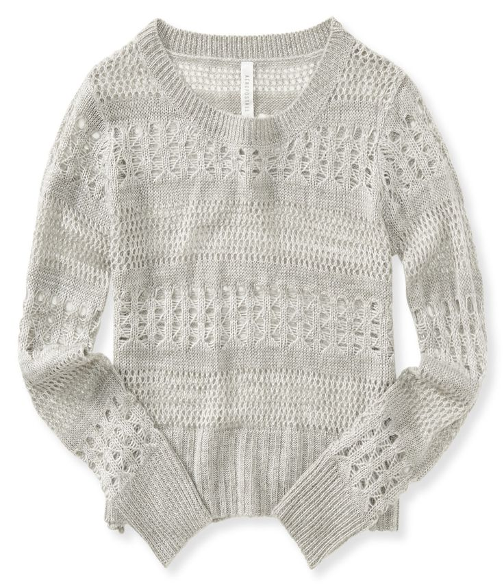 Open-Knit Sweater from Aeropostale