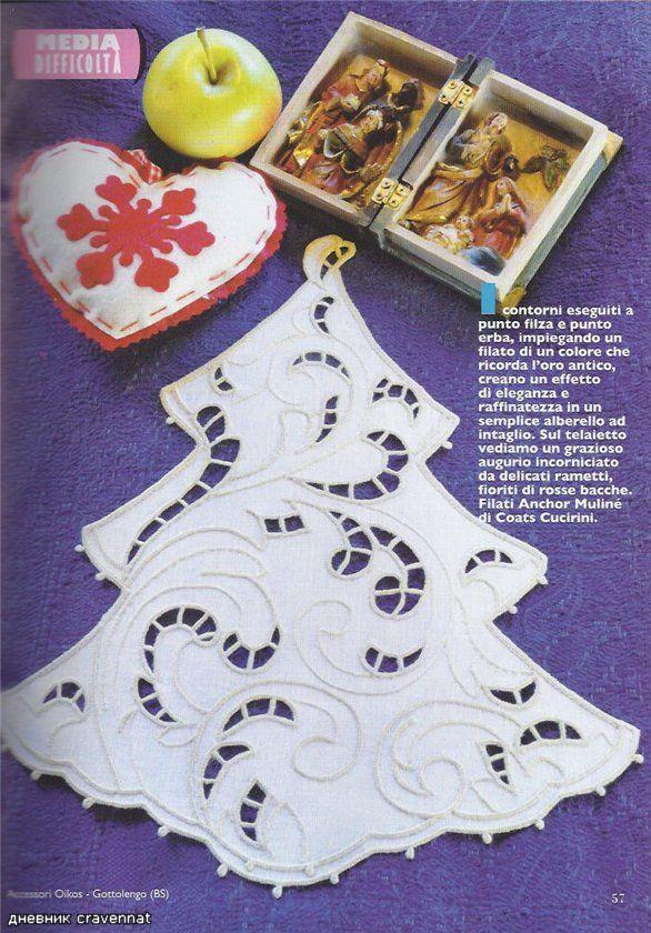 Pintura em Tecido Passo a Passo: Falso Richilieu pra o Natal
