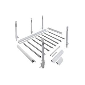 Gatehouse 129-In L X 66-In W Aluminum Wheelchair Ramp U-Turn Landing R