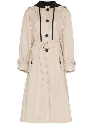9ab077163f5d Miu Miu long sleeve trench coat | Lifestyle | Coat, Miu miu, Miu miu ...