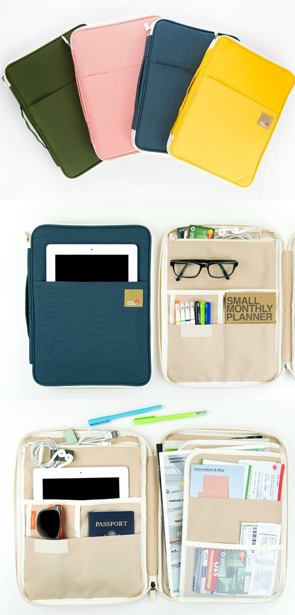 It provides an awesome pouch with great size to hold my everyday essentials! I can include my planner, notebook, writing tools, and even my 13-inch laptop. The Better Together Note Pouch v5 will show you what a functional pouch is!