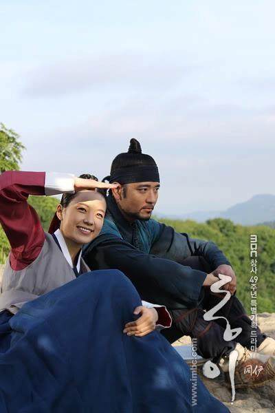 'Dong Yi' is my mother's favourite sageuk ;); starred by quite a good cast selection: Han Hyo Joo, Ji Jin Hee, Bae Soo Bin, Lee Seo Yeon, Jung Jin Young and Running Man's Lee Kwang Soo #kdrama