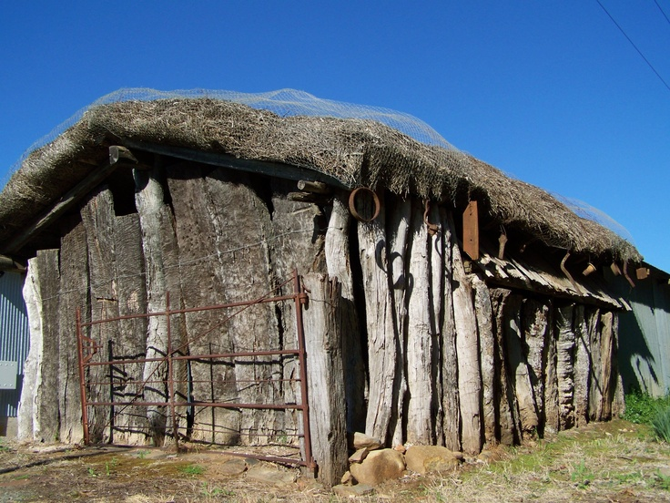 A stunning old barn in the Australian Barrossa Valley