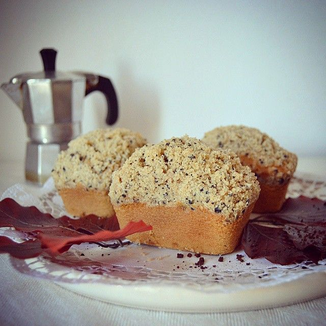 Mini plumcake al caffè moka #ricetteaquadretti #thisishome