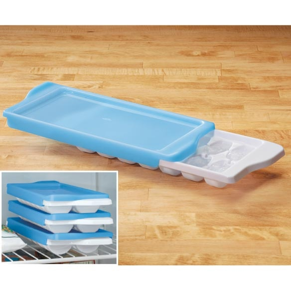 Oxo® Ice Cube Tray with Cover - Gadgets & Utensils - Kitchen - Walter Drake