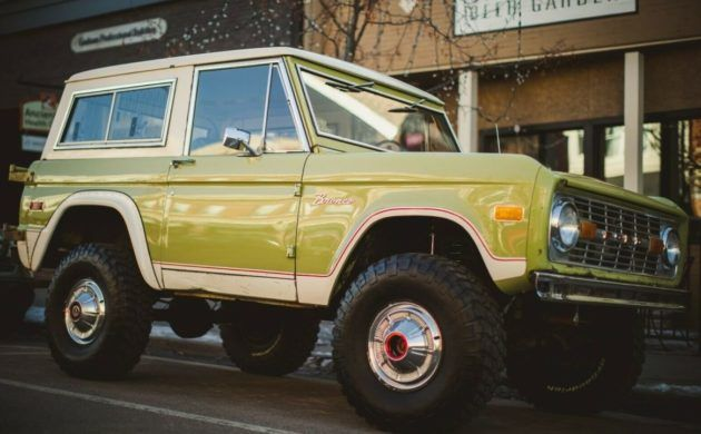 Good To Be Green 1975 Ford Bronco In 2020 Ford Bronco Bronco Classic Bronco
