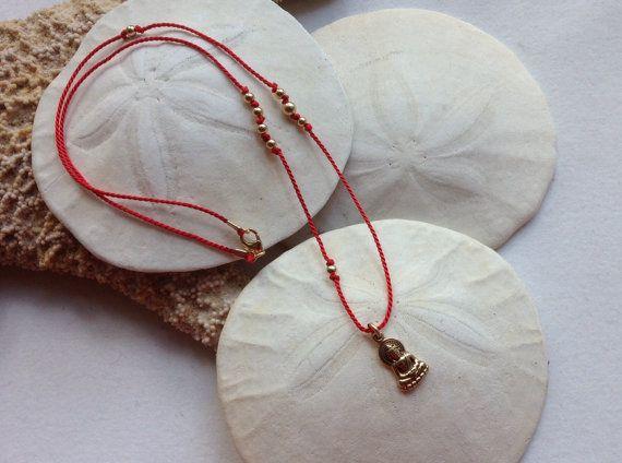 Buddha Yoga Meditation Necklace by JewelrybySacredArt on Etsy, $45.00