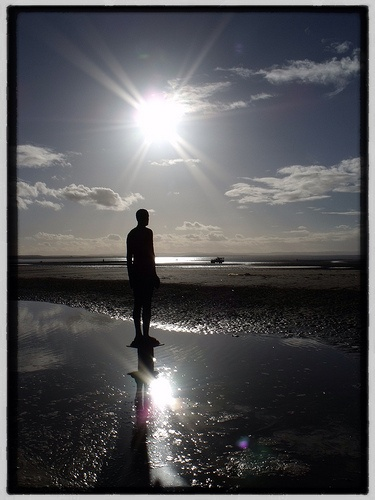 Anthony Gormley's - Another Place