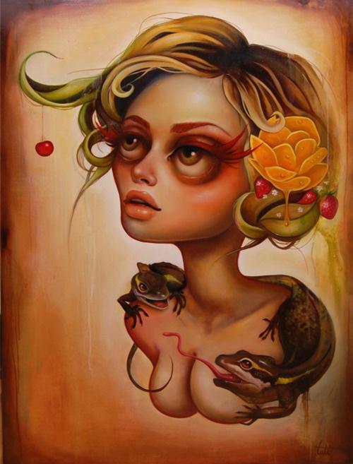 """Flor de mango"" by Tati Suarez: Flor De, De Mango, Art Inspiration, Art Tatiana Suarez, Illustration, Artsy Fartsy, Artist"