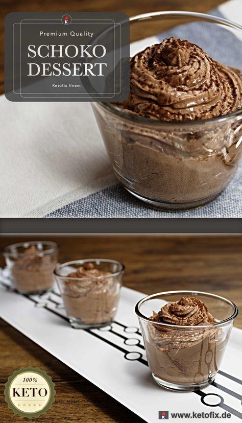Low Carb Schoko Dessert ohne Kh. So lecker, dass sogar meine eigene Portion Schokoladen-Dessert gemopst wurde! Hol dir das Low-Carb Schoko-Dessert Rezept.