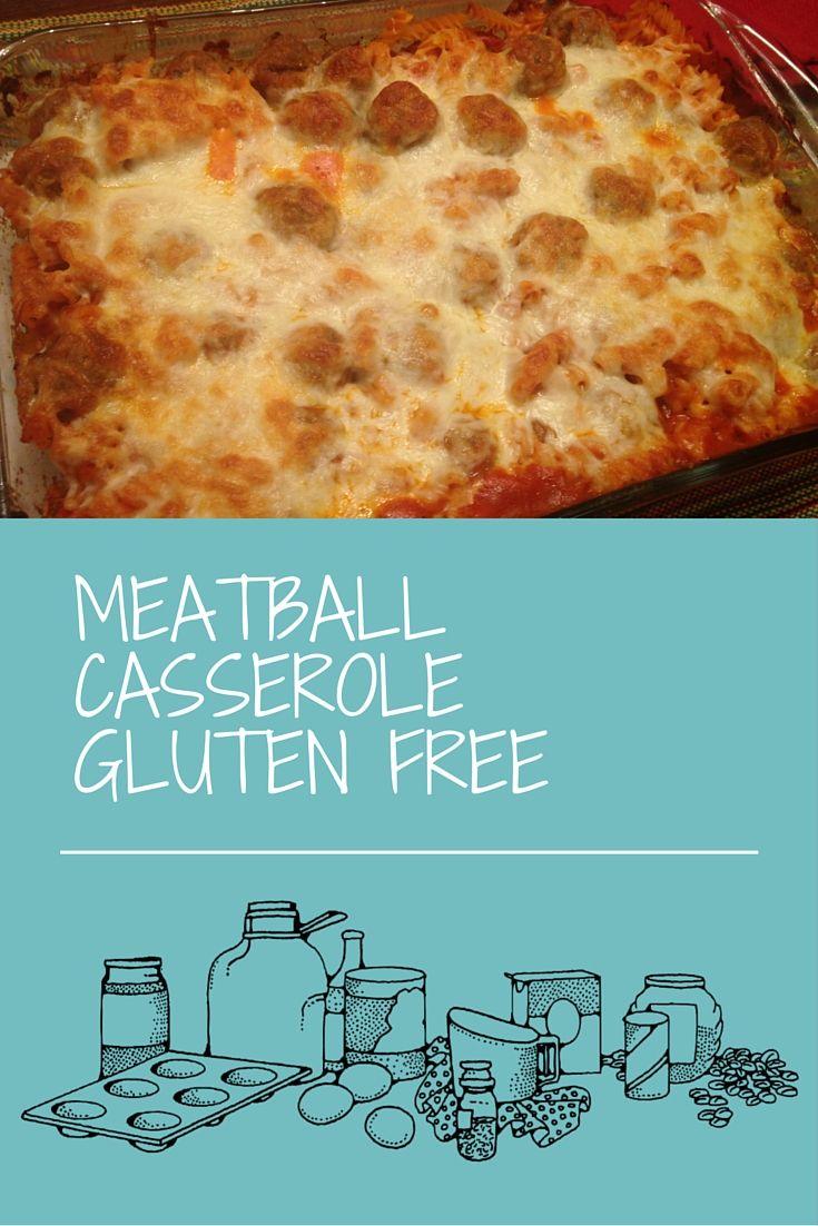 Gluten Free Dinner Party Menu Ideas Part - 44: Gluten Free Meatball Casserole Dinner - A Fast And East Gluten Free Dinner,  Everyone Will