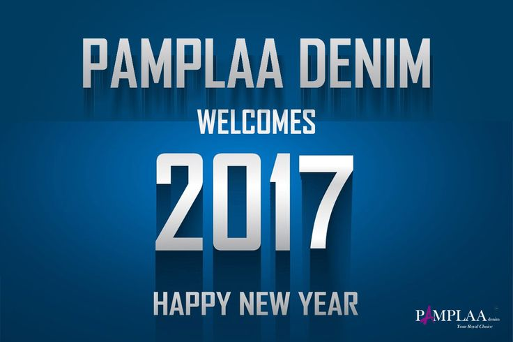 Pamplaa denim welcomes the New Year 2017 and wishing you all a great year ahead. Soon in India, stay tuned for more. #puredenim #royalchoice #authentic #denimfashion #jeans