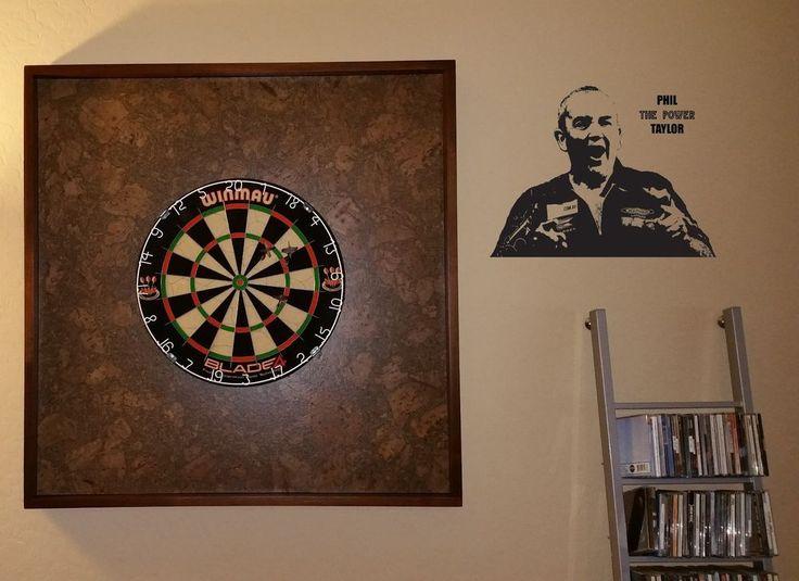 Phil Taylor Darts Legend WALL STICKER VINYL Decal