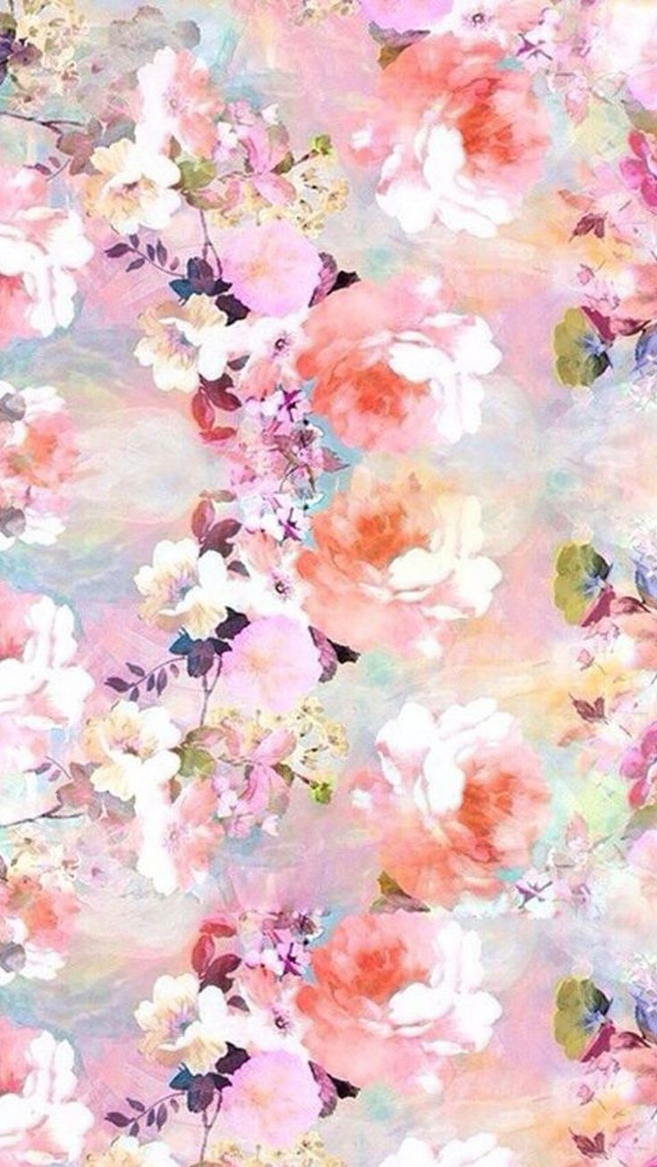 Flower Lock Screen Floral Wallpaper Iphone Vintage Flowers Wallpaper Pink Flowers Wallpaper