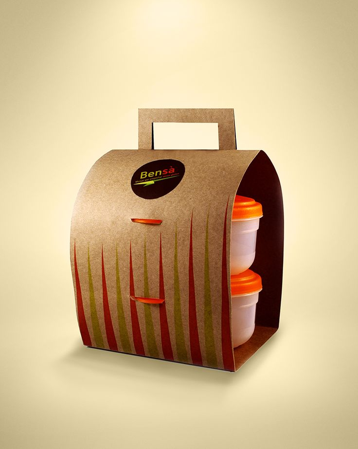 Packaging Bensà | Cristina Casas Ecologic - Original - Creative - Take Away - Fast Food - Slow Food - Free Gluten - Celiac