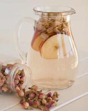 Rosy Apple Tisane #herbal tea