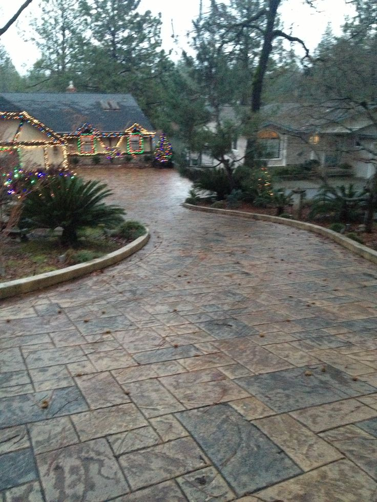 Concrete And Nail Polish Layering With Zoya Belinda Maisie: Best 20+ Stained Concrete Driveway Ideas On Pinterest