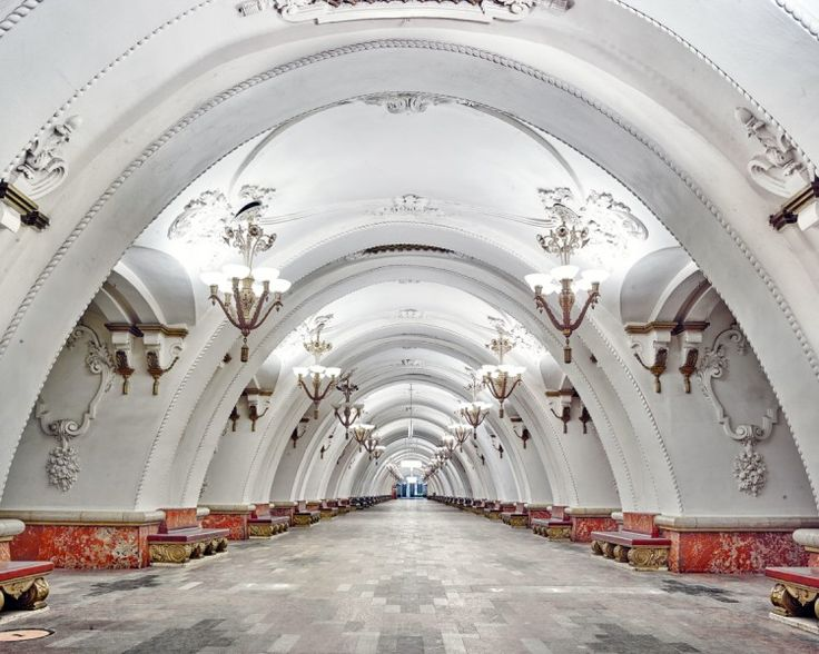 Ob in Moskau oder St. Petersburg: Die Stationen der U-Bahn sind spektakulär. David Burdeny hat sie fotografiert.