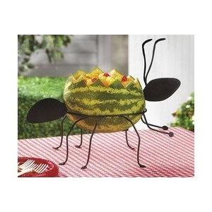 Large Black Ant Watermelon Fruit Salad Holder   (Oriental Trading)Fruit Salad, Black Ants, Birthday Parties, Ants Watermelon, 1St Birthday, Watermelon Fruit, Parties Ideas, Picnics Parties, Watermelon Holders