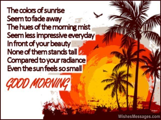 Good Morning Beautiful Poem For Her Good Morning Beautiful Poem
