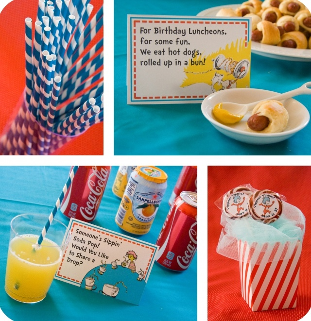 Dr. Seuss lunch ideas: Food Ideas, Birthday Parties, Seuss Parties, 1St Birthday, Parties Ideas, Dr. Seuss, Dr. Suess, Birthday Ideas, Parties Food