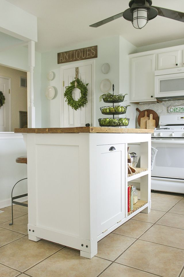 Diy Ideas For Metal Kitchen Recycling Bin