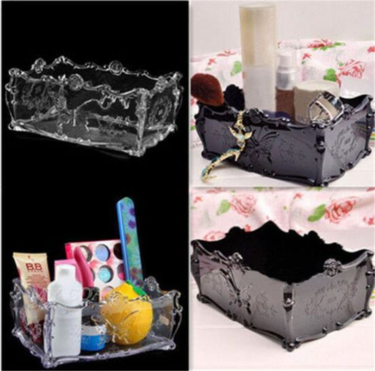 New Butterfly Acrylic Holder Drawer Cosmetic Storage Makeup  Organizer Case | Health & Beauty, Makeup, Makeup Bags & Cases | eBay!