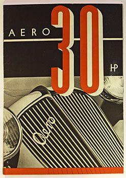 AERO 30 HP  Antikvariát PRAŽSKÝ ALMANACH www.artbook.cz -  aktuální nabídka