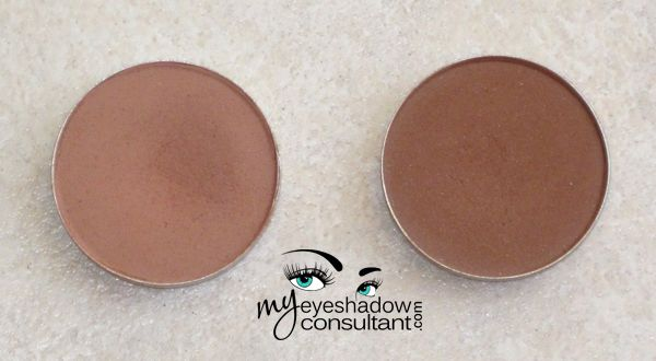 CREASE COLORS mac Soft Brown and Saddle are very similar in color and are easily interchanged with one another.