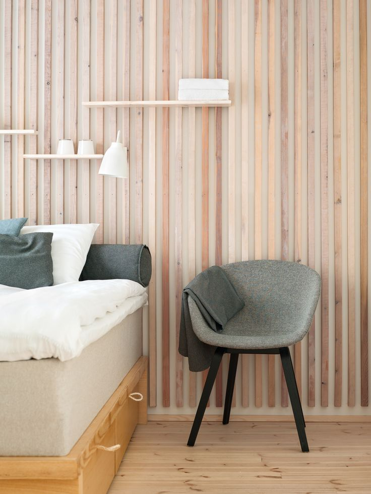 Dream Hotel in Tampere, Finland with Caravaggio Wall lamps by Cecilie Manz  http://www.nordika.mx/lamparas-caravaggio-pared-negro.html