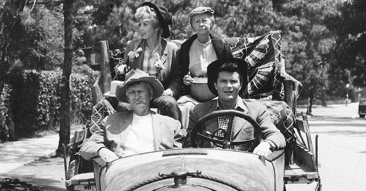 The Beverly Hillbillies - loved this show as a little girl!