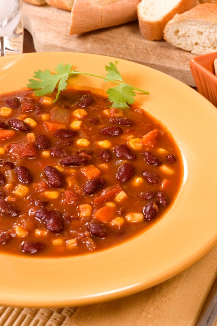 #Epicure 15-minute Vegetarian Chili #vegetarian #meatlessmonday