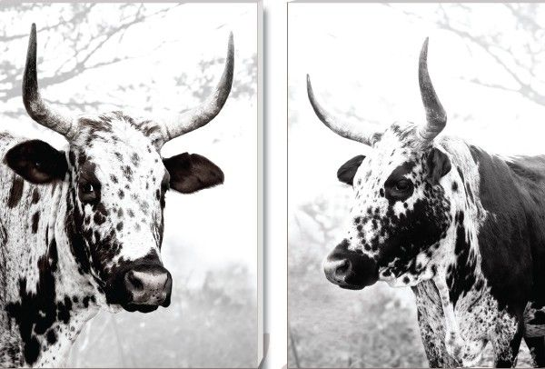 'Duo Umzumbe Set' Canvas Prints. R2950. Delivery is FREE to anywhere in South Africa!