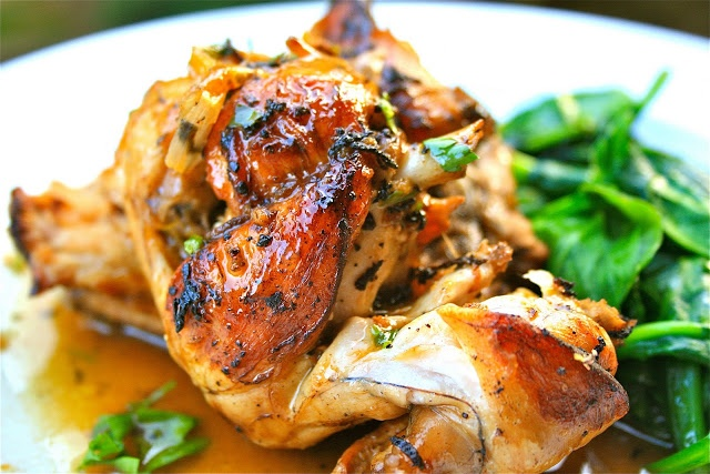 Johnny's Kitchen: French Rabbit Casserole with Lemon & Garlic