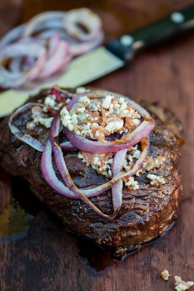 Blue Cheese + Onion Steak