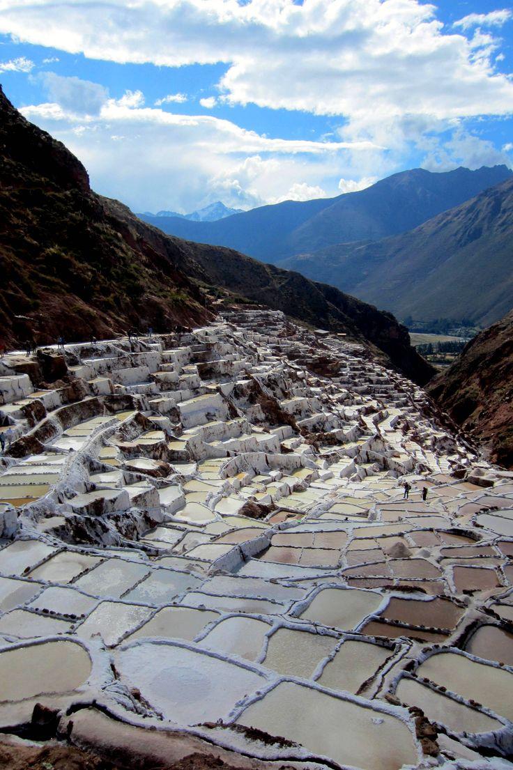 Salineras De Maras, Ollantaytambo, Cusco, Peru