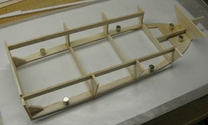 A scratch built RC boat hull easy and inexpensive. Learn to scratch build with this simple ...