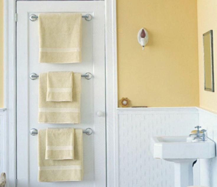 10 brillantes astuces pour maximiser l'espace d'une petite salle de bain! - Trucs et Astuces - Des trucs et des astuces pour améliorer votre vie de tous les jours - Trucs et Bricolages - Fallait y penser !