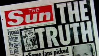 Liverpool FC ban for Sun journalists over Hillsborough