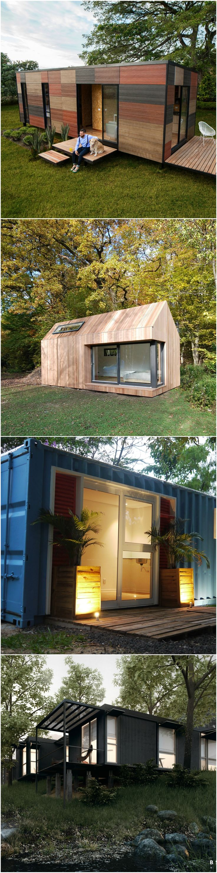Buying a prefabricated house is similar to buying different pieces of furniture; it is developed in a different location, and once you are done selecting what you want, the finished pieces will be sent to your location, ready to be put together to create your snug home. This smart concept allows the architect houses & home builders to build a house in record time.