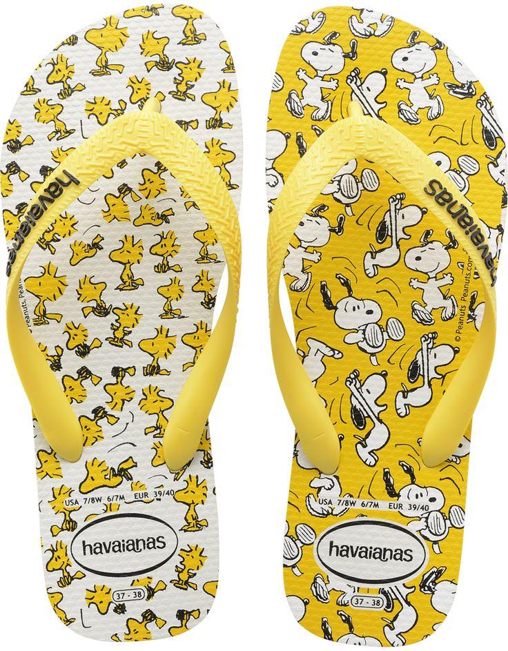 Snoopy Women's Flip Flop - Snoopy Flip Flops for Women - Havaianas