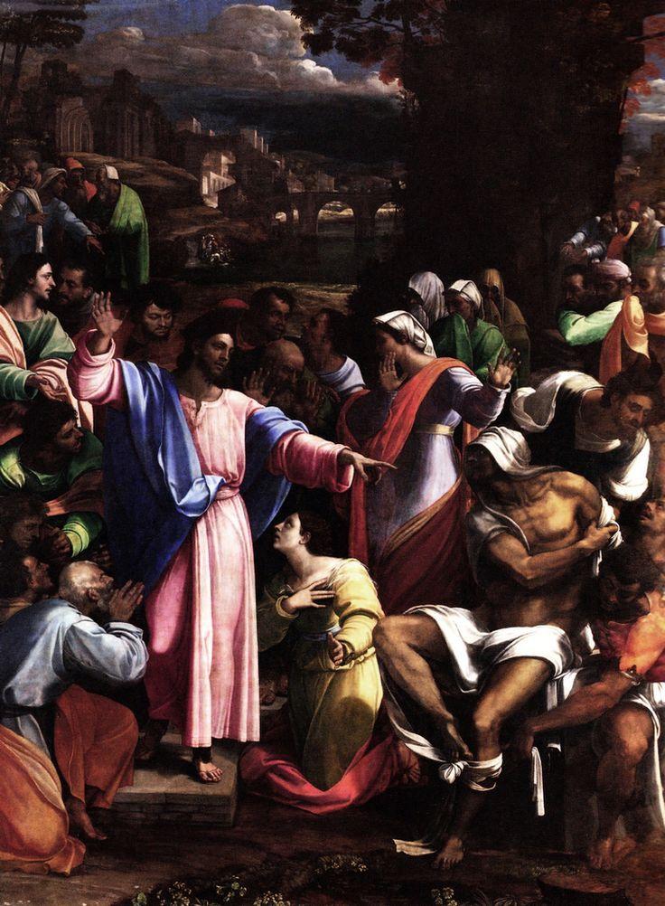 Sebastiano del Piombo - Resurrezione di Lazzaro - 1517-1519