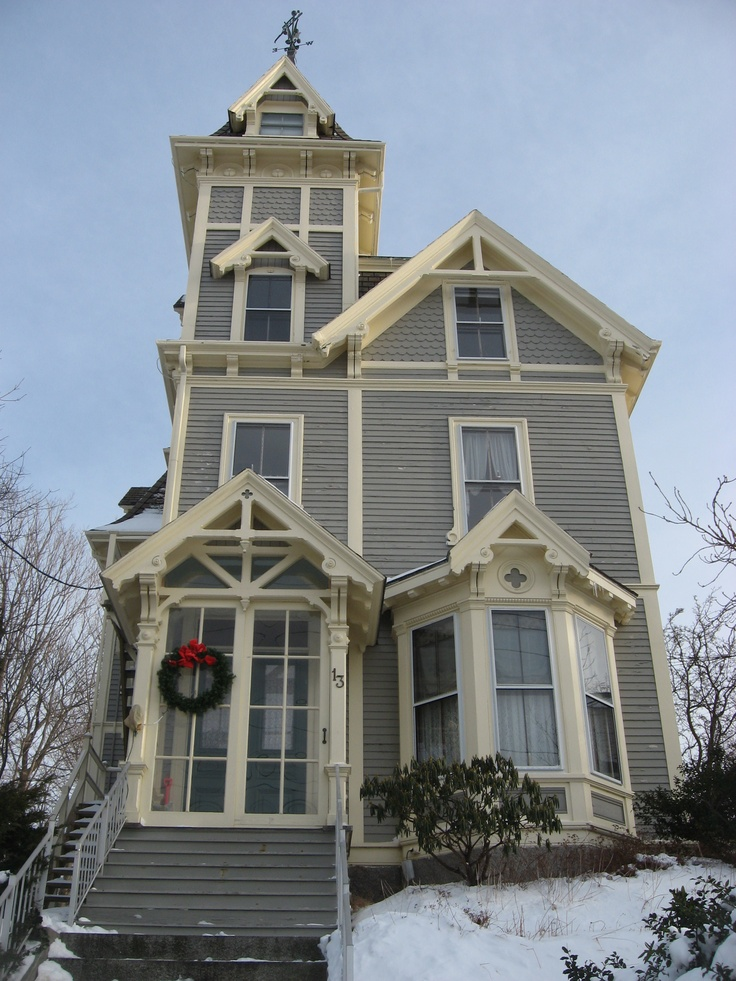 161 Best Painted Ladies Images On Pinterest Victorian